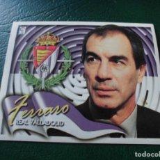 Cromos de Fútbol: FERRARO VALLADOLID ED ESTE LIGA CROMO 00 01 FUTBOL 2000 2001 - SIN PEGAR - 243. Lote 89354800