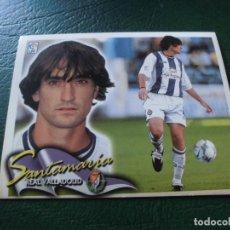 Cromos de Fútbol: SANTAMARIA VALLADOLID ED ESTE LIGA CROMO 00 01 FUTBOL 2000 2001 - SIN PEGAR - 247. Lote 89355348