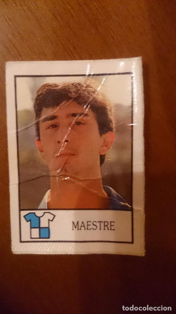 MAESTRE SABADELL BOLLYCAO 87 88 (Coleccionismo Deportivo - Álbumes y Cromos de Deportes - Cromos de Fútbol)