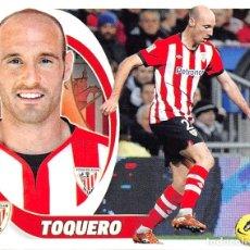 Cromos de Fútbol: EDICIONES ESTE 12/13 2012/2013 - TOQUERO (ATHLETIC CLUB) SIN PEGAR. Lote 90188682