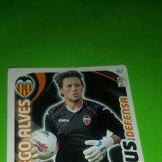Cromos de Fútbol: CROMO PANINI ADRENALYN - TEMPORADA 11-12 ( 2011-2012 ) - VALENCIA C.F - DIEGO ALVES ( PLUS DEFENSA. Lote 90377099