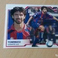 Cromos de Fútbol: COLECCIÓN OFICIAL DE CROMOS DE LA LIGA 2007-2008: TOMMASI (LEVANTE U.D.). Lote 90688240