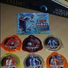 Cromos de Fútbol: KRAKS DE LA LIGA 2006-2007 PANINI - LOTE 8 TAZOS. Lote 90741060