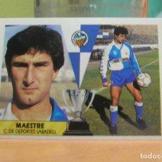 Cromos de Fútbol: EDICIONES ESTE 1987-1988 87 88 MAESTRE (SABADELL) SIN PEGAR. Lote 90824700