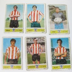 Cromos de Fútbol: 6 CROMOS DE FUTBOL DEL ATLETICO DE BILBAO DE 1973 - GRAPHIC 3. Lote 90969405