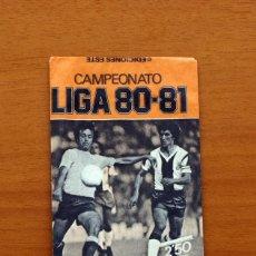 Cromos de Fútbol: SOBRE VACIO, SIN CROMOS - COLOR NARANJA - CAMPEONATO LIGA 1980-1981, 80-81 - EDICIONES ESTE. Lote 91035025