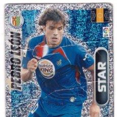 Cromos de Fútbol: CROMO DE FUTBOL DEL ALBUM ADRENALYN, TEMPORADA 2009-10: PEDRO LEON (STAR). Lote 198668883