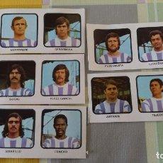 Cromos de Fútbol: 5 CROMOS FUTBOL. CAMPEONATOS NACIONALES DE FUTBOL 1974 - 75. VALLADOLID TEJEDOR.... VER FOTOS. Lote 91282010