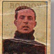 Cromos de Fútbol: CROMITO BORDOY (C. D. EUROPA, CAMPEÓN DE CATALUÑA 1923-24). Lote 91399190
