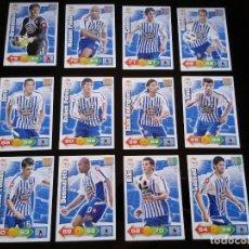 Cromos de Fútbol: ADRENALYN XL 2010 - 2011 LOTE 12 CROMOS DISTINTOS DEL DEPORTIVO DE LA CORUÑA. Lote 91995550
