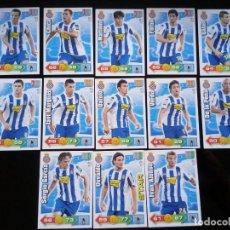 Cromos de Fútbol: ADRENALYN XL 2010 - 2011 LOTE 13 CROMOS DISTINTOS DEL ESPAÑOL. Lote 91995610