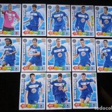 Cromos de Fútbol: ADRENALYN XL 2010 - 2011 LOTE 13 CROMOS DISTINTOS DEL GETAFE. Lote 91995710