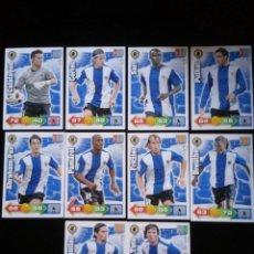Cromos de Fútbol: ADRENALYN XL 2010 - 2011 LOTE 10 CROMOS DISTINTOS DEL HERCULES. Lote 91995805
