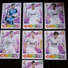 Cromos de Fútbol: ADRENALYN XL 2010 - 2011 LOTE 7 CROMOS DISTINTOS DEL REAL MADRID. Lote 91995970