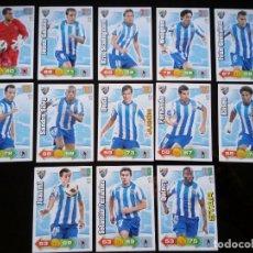 Cromos de Fútbol: ADRENALYN XL 2010 - 2011 LOTE 13 CROMOS DISTINTOS DEL MALAGA. Lote 91996065