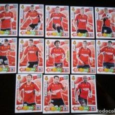 Cromos de Fútbol: ADRENALYN XL 2010 - 2011 LOTE 13 CROMOS DISTINTOS DEL MALLORCA. Lote 91996125