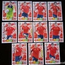 Cromos de Fútbol: ADRENALYN XL 2010 - 2011 LOTE 11 CROMOS DISTINTOS DEL OSASUNA. Lote 91996170