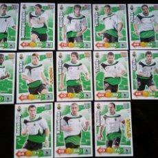Cromos de Fútbol: ADRENALYN XL 2010 - 2011 LOTE 13 CROMOS DISTINTOS DEL RACING SANTANDER. Lote 91996250