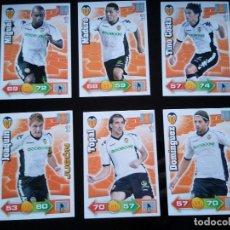 Cromos de Fútbol: ADRENALYN XL 2010 - 2011 LOTE 5 CROMOS DISTINTOS DEL VALENCIA ( MADURO NO). Lote 91996515