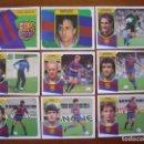 Cromos de Fútbol: F.C. BARCELONA EDICIONES ESTE LIGA 91/92 1991/92 DREAM TEAM 18 CROMOS DIFERENTES NUEVOS ADHESIVOS. Lote 92036720