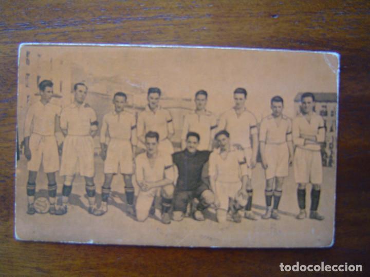 REAL MADRID - CAMPEONATO DE ESPAÑA 1923 - 1924 1923/24 - ORIGINAL - CON SANTIAGO BERNABEU (Coleccionismo Deportivo - Álbumes y Cromos de Deportes - Cromos de Fútbol)