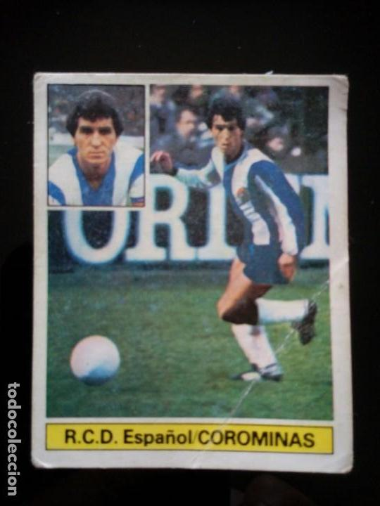 UF FICHAJE 5 COROMINAS . LIGA ESTE 1981 1982 81 82 DESPEGADO (Coleccionismo Deportivo - Álbumes y Cromos de Deportes - Cromos de Fútbol)