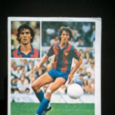 Cromos de Fútbol: UF FICHAJE 7 MORATALLA BARCELONA. LIGA ESTE 1981 1982 81 82 DESPEGADO. Lote 92097890