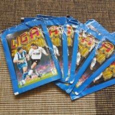 Cromos de Fútbol: LOTE 6 SOBRES ABIERTOS SIN CROMOS LIGA ESTE 00 01 2000 2001. Lote 92256482