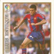Cromos de Fútbol: 1997-1998 - 37 LUIS ENRIQUE - FC BARCELONA - MUNDICROMO LAS FICHAS DE LA LIGA 97-98. Lote 210683400