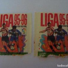 Cromos de Fútbol: 2 SOBRES VACIOS LIGA 95/96 PANINI. Lote 92412654