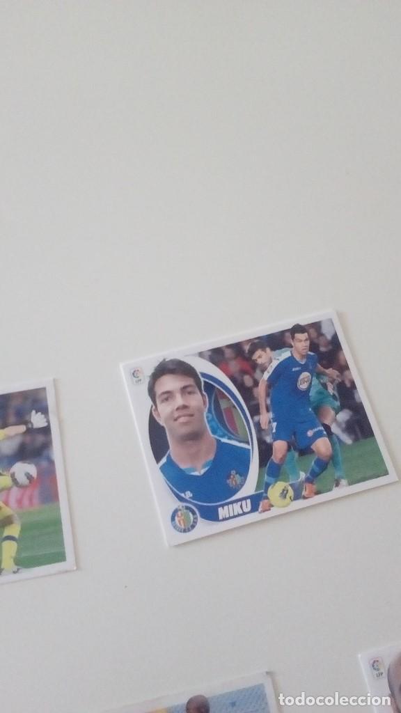 LIGA ESTE PANINI 2012 2013 12 13 SIN PEGAR GETAFE MIKU (Coleccionismo Deportivo - Álbumes y Cromos de Deportes - Cromos de Fútbol)