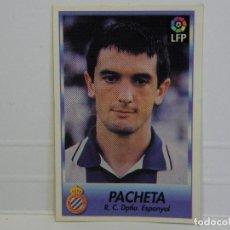 Cromos de Fútbol: CROMO CARTA PACHETA ESPAÑOL BOLLYCAO 96-97. Lote 92826415