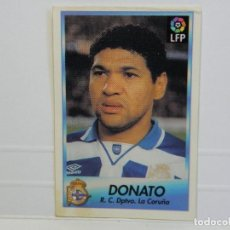 Cromos de Fútbol: CROMO CARTA BOLLYCAO 96-97 DONATO LA CORUÑA. Lote 92826530