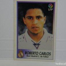 Cromos de Fútbol: CROMO CARTA BOLLYCAO 96-97 ROBERTO CARLOS - REAL MADRID. Lote 92826935