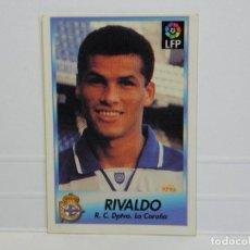Cromos de Fútbol: CROMO CARTA BOLLYCAO 96-97 RIVALDO - LA CORUÑA. Lote 92827095