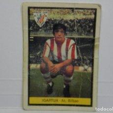 Cromos de Fútbol: CROMO CARTA IGARTUA - AT. BILBAO - 1972-1973 72-73. Lote 92827390