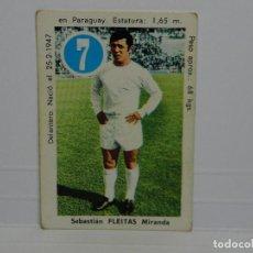 Cromos de Fútbol: CROMO CARTA ASES Y ESTRELLAS EDITORIAL FHER 1969 - FLEITAS - REAL MADRID. Lote 92829285