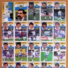 Cromos de Fútbol: TENERIFE - EDICIONES ESTE 1990-91, 90-91 - COMPLETO, 20 CROMOS, NUNCA PEGADOS. Lote 93135435