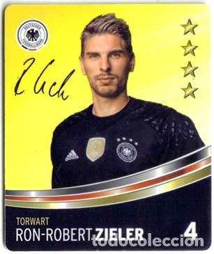 Nº 4 CROMO FUTBOL CARD ZIELER LIGA ALEMANA 2016 DFB DEUTSCHER (Coleccionismo Deportivo - Álbumes y Cromos de Deportes - Cromos de Fútbol)