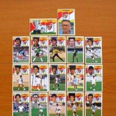 Cromos de Fútbol: SEVILLA C.F. - EDICIONES ESTE 1990-91, 90-91- EQUIPO COMPLETO, 22 CROMOS, NUNCA PEGADOS. Lote 93184210