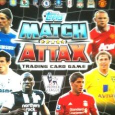 Cromos de Fútbol: TOPPS MATCH ATTAX 11/12 2011 2012 COMPLETA CON ARCHIVADOR. Lote 93324045