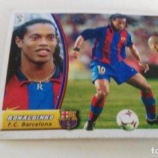 Cromos de Fútbol: LIGA 2003/2004 ULTIMOS FICHAJES Nº 10 RONALDINHO EDICIONES ESTE. Lote 93342415
