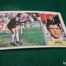 Cromos de Fútbol: CROMO ESTE 86 87 - UNZUE , DEL OSASUNA - NUNCA PEGADO ( PEDIDO MINIMO 5 EUROS ). Lote 93403660
