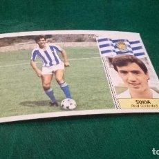 Cromos de Fútbol: CROMO ESTE 86 87 - SUKIA , DE LA REAL SOCIEDAD - NUNCA PEGADO ( PEDIDO MINIMO 5 EUROS ). Lote 93404735
