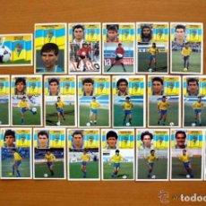 Cromos de Fútbol: CÁDIZ - EDICIONES ESTE 1990-1991, 90-91 - EQUIPO COMPLETO, 21 CROMOS, NUNCA PEGADOS. Lote 93594620