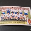 Cromos de Fútbol: CROMO ESTE 86 87 - ALINEACIÓN DEL ZARAGOZA - NUNCA PEGADO ( PEDIDO MINIMO 5 EUROS ). Lote 93622840