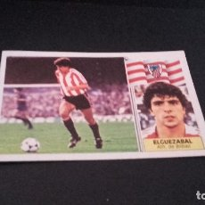 Cromos de Fútbol: CROMO ESTE 86 87 - ELGUEZABAL , DEL BILBAO - DESPEGADO ( PEDIDO MINIMO 5 EUROS ). Lote 93657820