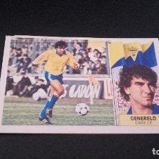 Cromos de Fútbol: CROMO ESTE 86 87 - GENERELO , DEL CADIZ - DESPEGADO ( PEDIDO MINIMO 5 EUROS ). Lote 93660195