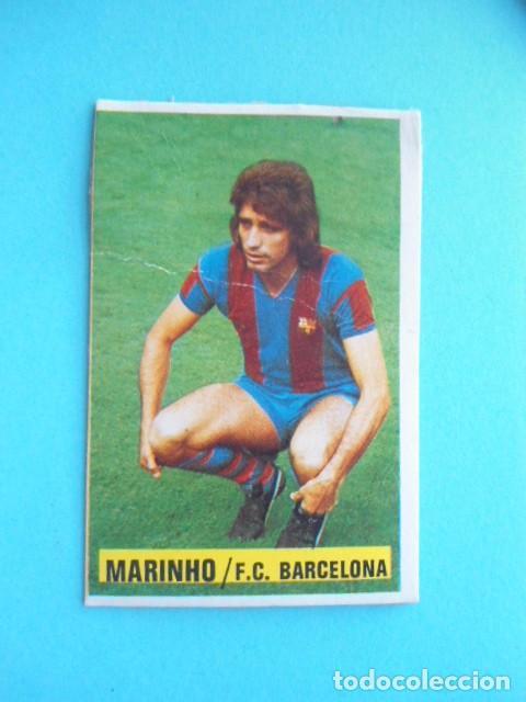 EDICIONES ESTE 74/75 MARINHO COLOCA MUY DIFICIL (Coleccionismo Deportivo - Álbumes y Cromos de Deportes - Cromos de Fútbol)