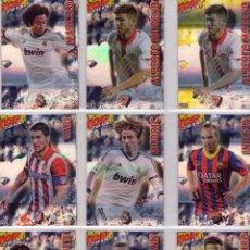 Cromos de Fútbol: CROMO 581 MARCELO REAL MADRID FÚTBOL MUNDICROMO QUIZ GAME 2014 TOP AZUL RAYAS. Lote 94090625